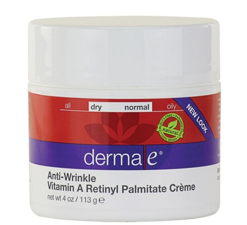 Derma E - Anti-Wrinkle Vitamin A Retinyl Palmitate Cr?me- 리파이닝 비타민A 크림 - 4 oz