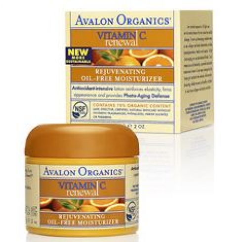 Avalon Organics Vitamin C Rejuvenating Oil-Free Moisturizer (50 mL) 아발론 네츄럴 비타민 C 수분보충 크림