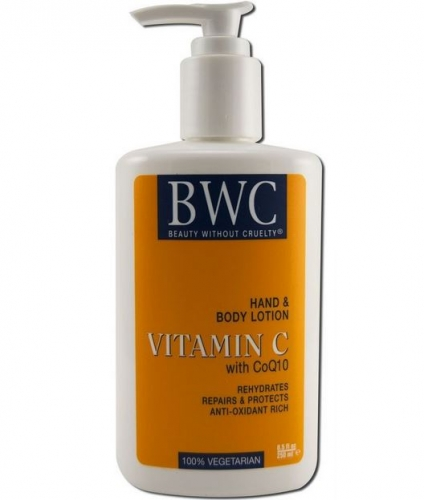 Beauty Without Cruelty-Vitamin C with Coq10 Hand and Body Lotion - BWC - 비타민 C &코엔자임 큐텐 핸드/바디 로션