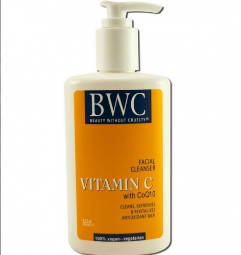 Beauty Without Cruelty-Vitamin C with Coq10  Facial Cleanser - BWC - 비타민 C &코엔자임 페이스 클린저