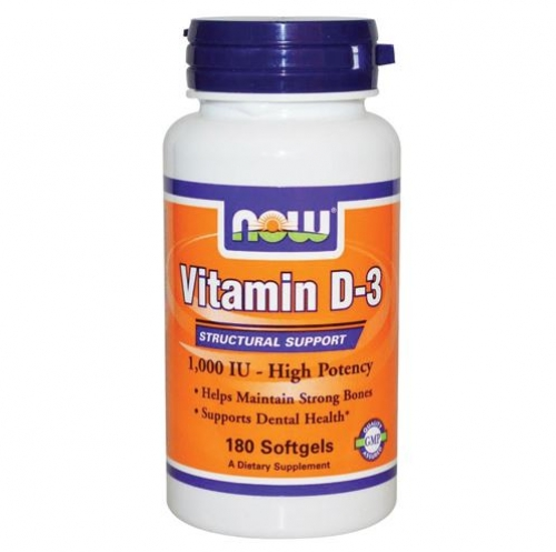 Now Foods - Vitamin D3 1000IU 90gels  - 나우 푸드 -비타민 D3 1000IU -90젤