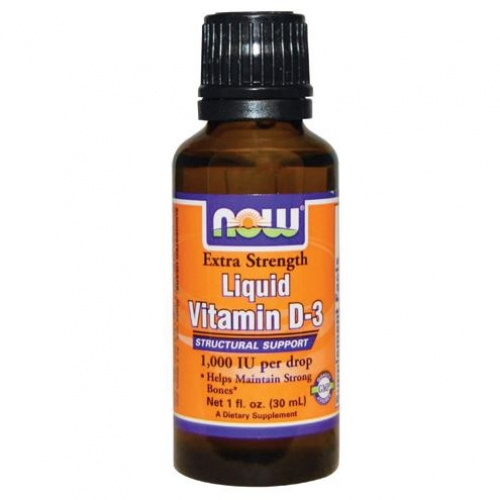 Now Foods - Vitamin D3 Kid's Liquid Extra Strength 1000IU  - 나우 푸드 -액상 고효능 비타민 D3 1000IU - 30ml