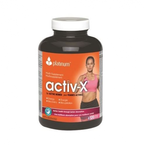 Platinum Naturals - Multivitamin Activ-X for Active Women 120sgels