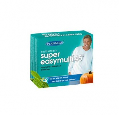 Platinum Naturals - Multivitamin Super EasyMulti 45+ for Men 60sgels