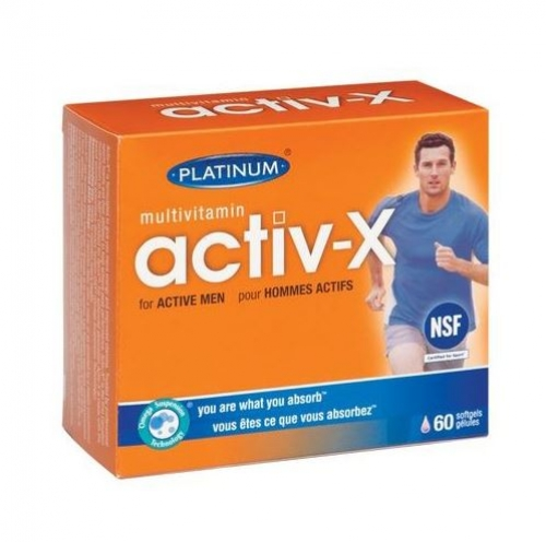 Platinum Naturals - Multivitamin Activ-X for Men 60sgels