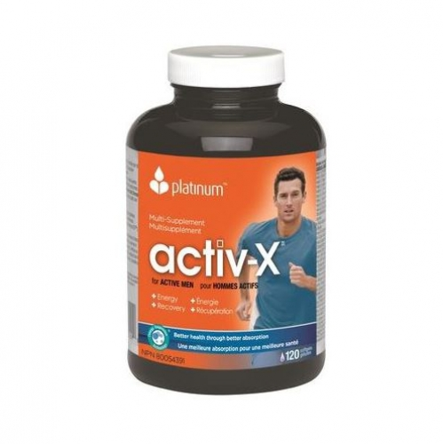 Platinum Naturals - Multivitamin Activ-X for Men 120sgels