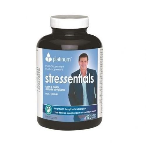 Platinum Naturals - MultiVitamin Stressentials for Men 120sgels