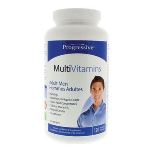 Progressive - Multiple Vitamins&Minerals For Adult Men