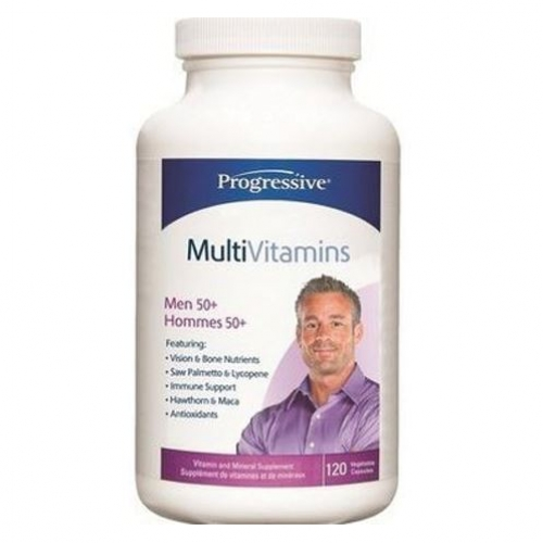 Progressive - Multiple Vitamins & Minerals For Men 50+