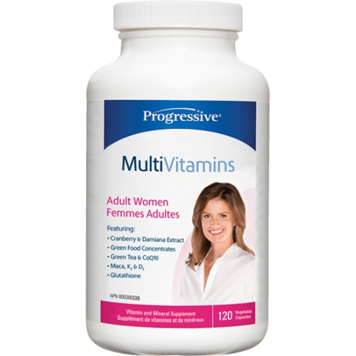 Progressive - Multiple Vitamins Minerals For Adult Women