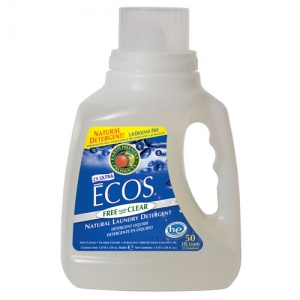 Earth Friendly Products - ECOS Free & Clear Laundry Liquid 6.21L(액상 세제)