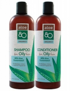 Lily of the desert Aloe 80 Oily Hair Care  알로에 80 지성 헤어케어