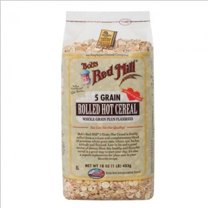 Bob's Red Mill - 5 Grain Rolled Cereal - 밥스레드밀 - 5 곡물 시리얼 453g