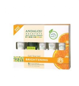 ANDALOU naturals - Get Started Brightening Skin Care Kit (5 Piece Kit) 안달로우 브라이트닝 세트