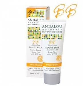 ANDALOU naturals - All-in-One Brightening Sheer Tint Beauty Balm SPF 30 (58 mL) 안달로우 브라이트닝- BB 크림