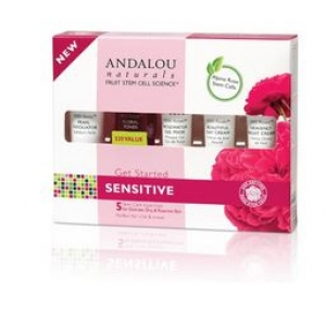 ANDALOU naturals - 1000 Roses Get Started Kit Sensitive (5 Products) 안달로우 1000송이 장미 세트