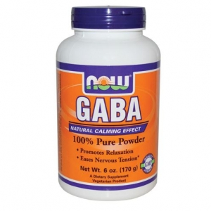 Now Foods - GABA(gamma-aminobutyric acid) Pure Powder 170g