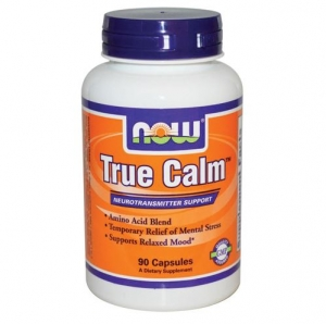 Now Foods - True Calm Relaxer with GABA + - 90vcap