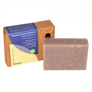 Himalaya Hand Crafted Lavender & Rosemary Cleansing Bar (Soap) 125g