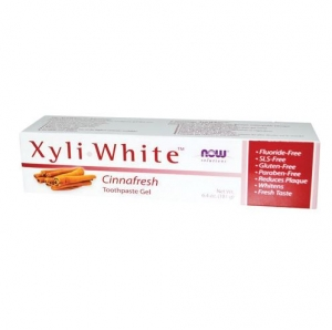Now Foods - Xyliwhite Cinnamon Toothpaste/Gel - 나우 푸드 - 자일리화이트 시나몬 치약  - 181g