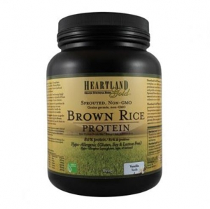 Health Land  - Brown Rice Protein - Vanilla 600g