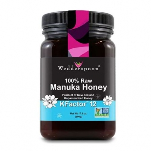 Wedderspoon  - 100% Raw Premium Manuka Honey KFactor 12  500G