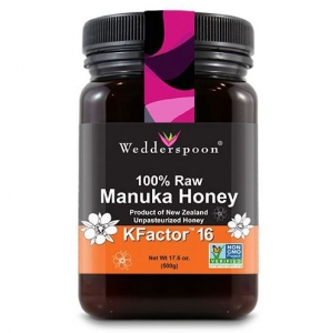 Wedderspoon  - 100% Raw Premium Manuka Honey KFactor 16  500G