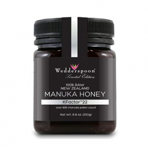 Wedderspoon - 100% Raw Premium Manuka Honey 99 KFactor 22 250G