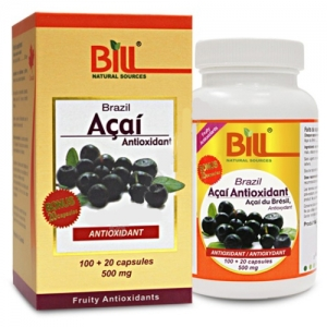 Bill - Acai Berry 500mg 120C