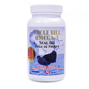 Uncle Bill Seal Oil Omega 3 500mg 500sg