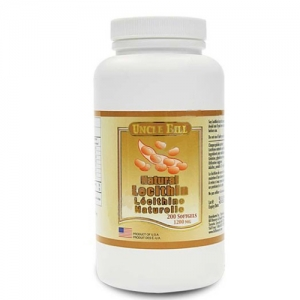 Uncle Bill Lecithin 1200mg 200SG