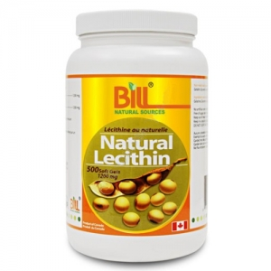 Bill  Natural Lecithin 1200mg  500SG