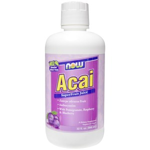 NOW - ACAI SUPERFRUIT ANTIOXIDANT JUICE - 946ML