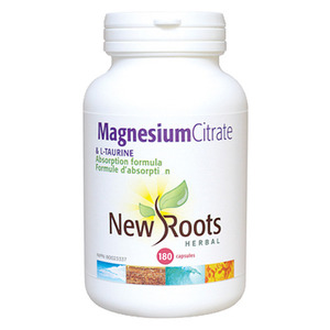NEW ROOTS - Magnesium Citrate & L-Taurine 180 Caps(180정)