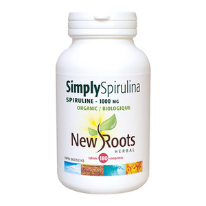 NEW ROOTS - Simply Spirulina 1000 mg 360 tablets(360정)