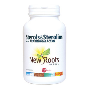 NEW ROOTS - Sterols & Sterolins With Arabinogalactan - 120 Caps(120정)