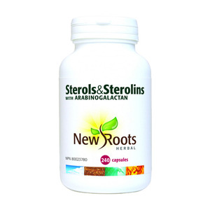 NEW ROOTS - Sterols & Sterolins With Arabinogalactan - 240 Caps(240정)