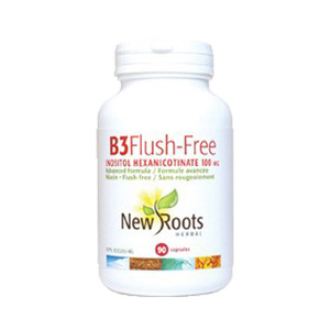 NEW ROOTS - Vitamin B3 Flush-Free 100 mg - 90 Caps(90정)