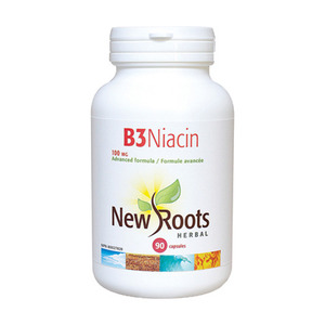 NEW ROOTS - Vitamin B3 Niacin 100 mg - 90 Caps(90정)
