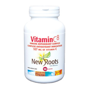 NEW ROOTS - Vitamin C8 527mg - 90 Caps (90정)