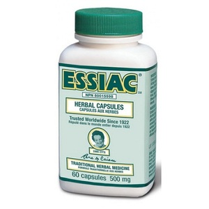 에시악 500mg Essiac® Herbal 60 Capsules Formula