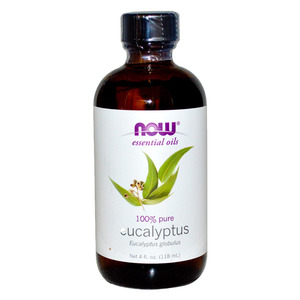 NOW Essential Oils Eucalyptus Oil  100% Pure (118 mL) 나우 푸드 유칼립투스 오일