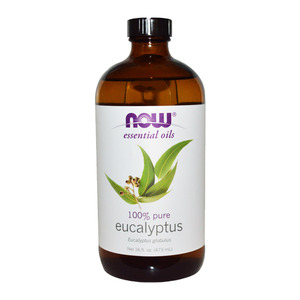 NOW Essential Oils Eucalyptus Oil  100% Pure (473 mL) 나우 푸드 유칼립투스 오일