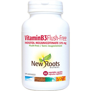 NEW ROOTS - Vitamin B3 Flush-Free 375 mg - 60 Caps(60정)