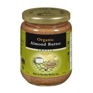 Nuts to You Organic Almond Butter Smooth-너츠투유 -오가닉 아몬드 버터 - 250g