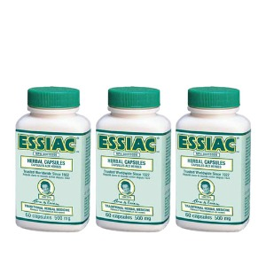 에시악 500mg Essiac® Herbal 60 Capsules Formula*3병 특가