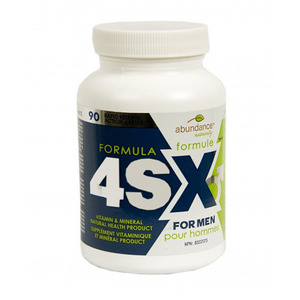 Abundance Naturally - 4SX FORMULA FOR MEN 90 TABLETS(90정)