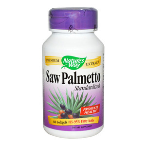 NATURE'S WAY - Saw Palmetto - 60 softgels(60정)